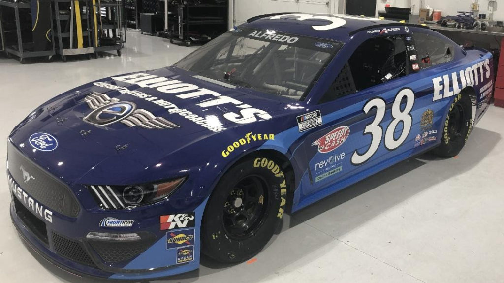 Ellliott's Custom Trailers and Motorcoaches Joins Front Row Motorsports