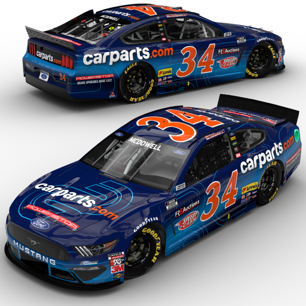 Daytona 500 Champion Returns to Track with CarParts.com and PowerStop