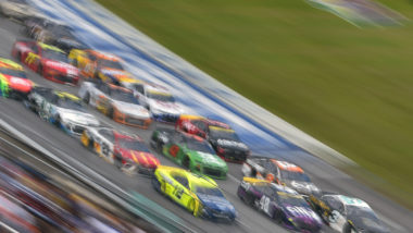 safety features in a NASCAR car